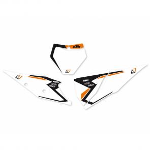 Blackbird Startnummerntafeln Dekor KTM SX, SXF 125, 250, 350, 450 2019-