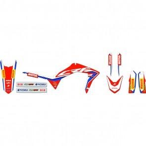 Team HRC Honda 2019 Dekor Kit Honda CRF 250 2010-2013 450 2009-2012