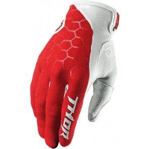 Thor Draft Indi Handschuhe Rot/Weiß