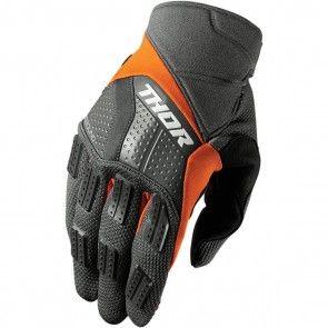 Thor Handschuhe Rebound Charcoal, Orange