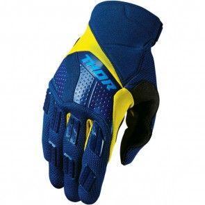 Thor Handschuhe Rebound Navy Yellow
