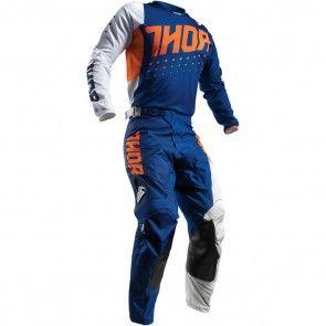 Thor Pulse Aktiv Orange/Navy Hose