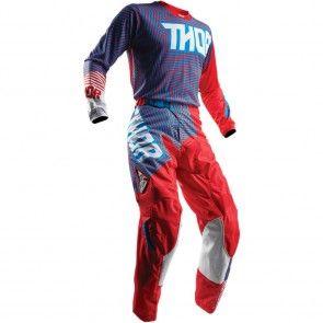 Thor Pulse Geotec Hose Blau Rot