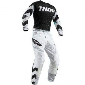 Thor Pulse Stunner Hose Schwarz Weiß 36