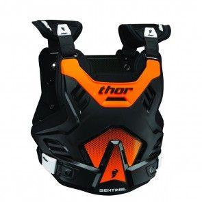Thor Sentinel GP Kinder Brustpanzer Flo Orange