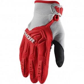 Thor Spectrum Handschuhe 2020 Grau - Rot
