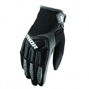 Thor Spectrum S8 Handschuhe Schwarz