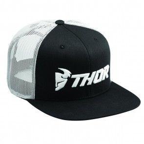 Thor Cap Trucker Snapback Schwarz - Weiß