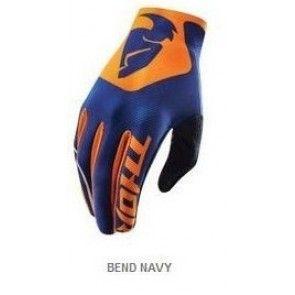 Thor Void S6 Handschuhe Bend Navy  - Orange
