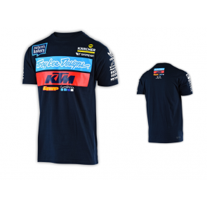 TLD Troy Lee Designs KTM Team T-Shirt Navy