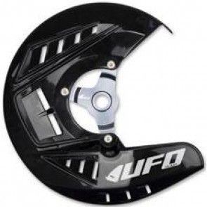 UFO Bremsscheibenschutz Schwarz KTM SX, SXF, EXC 125, 250, 300, 350, 450, 500 2010-2014