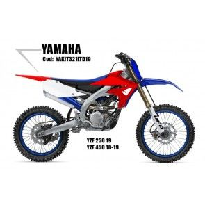 UFO Plastik Kit LTD Yamaha YZ250F 2019- / 450F 2018-