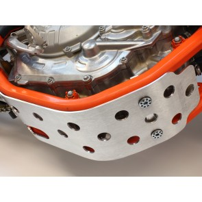 Works Connection Aluminium Motorschutz KTM SXF 450 2016-2018 / Husqvarna FC 450 2016-2018