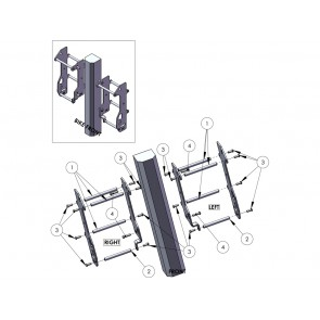 Zap Aluminium Kühlerschützer Beta RR 2020-