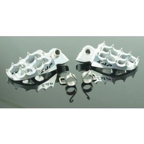 Zap E-Peg Fußrasten Silber KTM SX, SXF, EXC 65, 85, 125, 200, 250, 300, 350, 450, 520, 525, 530