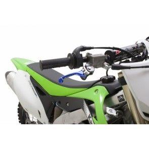 Zeta Flex Hebel Set Blau Kawasaki KX, KXF 2001-2012 / Yamaha YZ, YZF 2001-2012